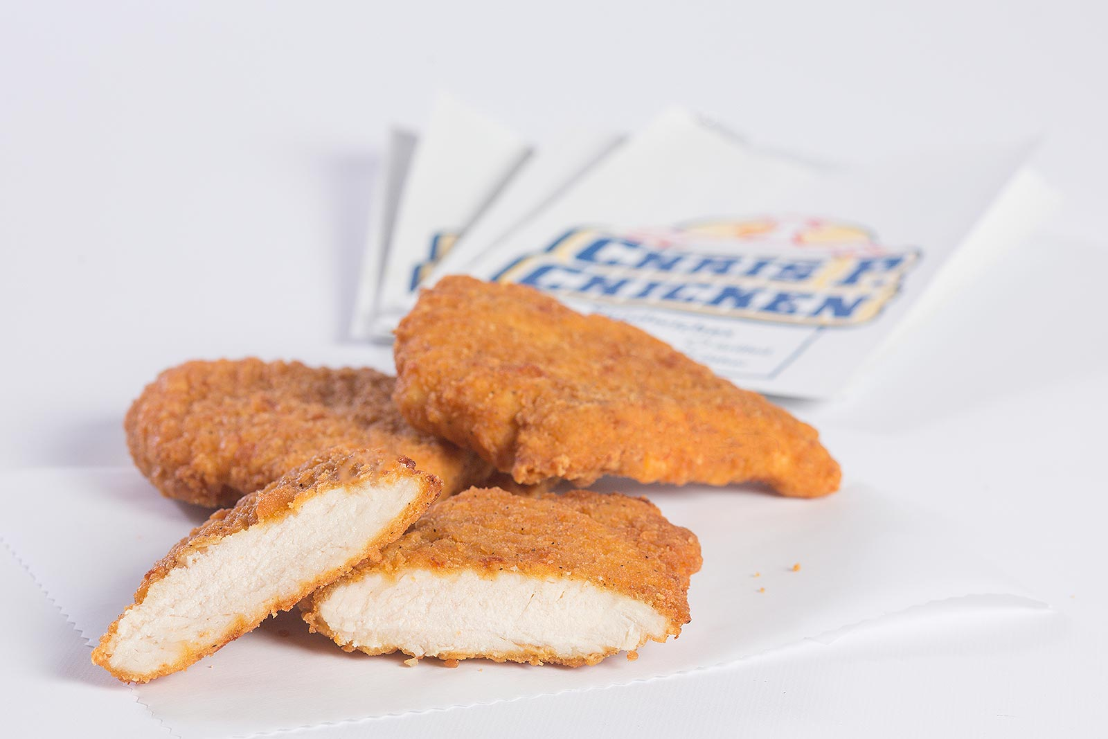 Chris P. Chicken Fillets w/ Bags image