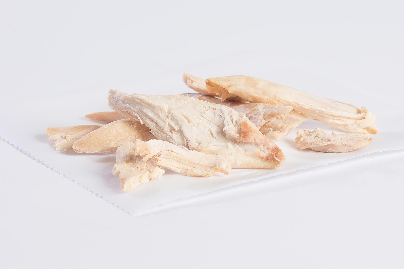 Pulled White Chicken Meat image