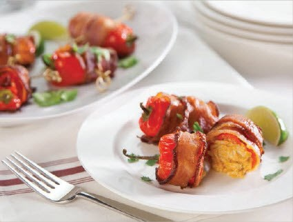 Bacon-Wrapped Fresno Peppers image