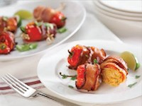 Bacon-Wrapped Fresno Peppers