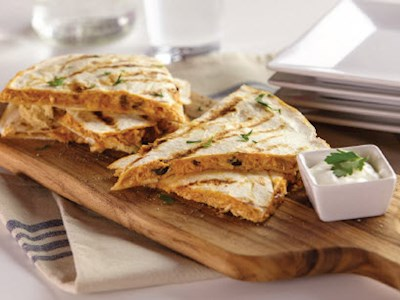 Nacho Chicken Quesadilla image