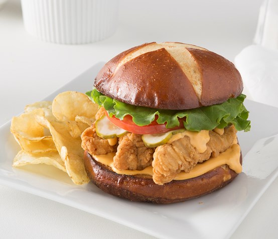 Black and Tan Chicken Sandwich
