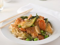Boneless Wing Stir-Fry