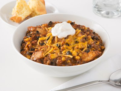 Fire-Roasted Chicken Chili image