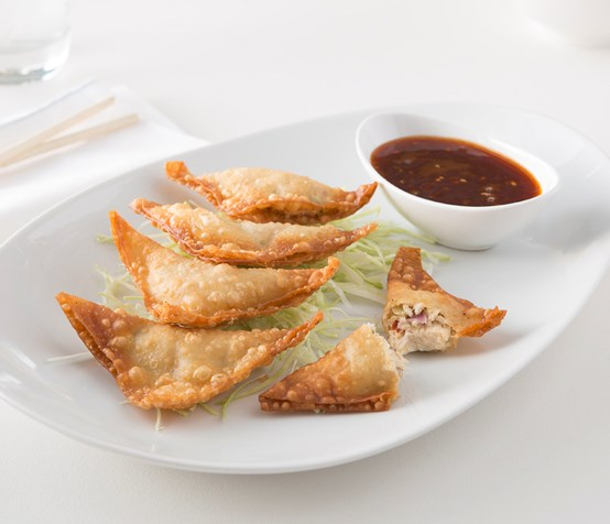 Asian Chicken Wontons image