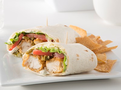 Spicy Chicken Crunch Wrap image