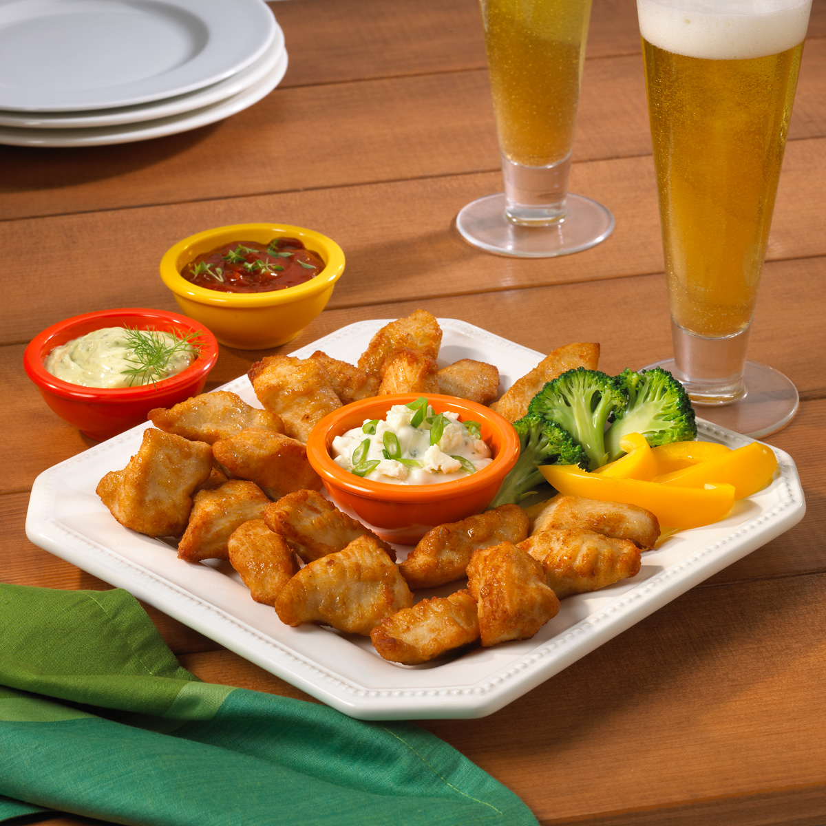Skinny Dip'n Chik'n Naked Boneless Wings image