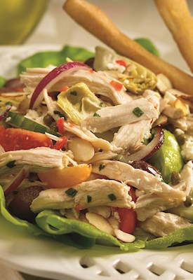 Pulled White Chicken Meat